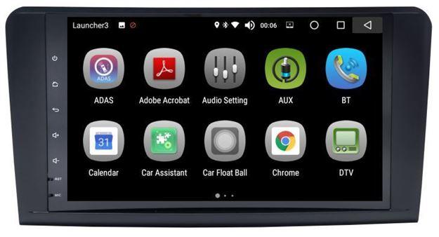 "Slika Mercedes ML/GL 9"" Android 8.0 AS"