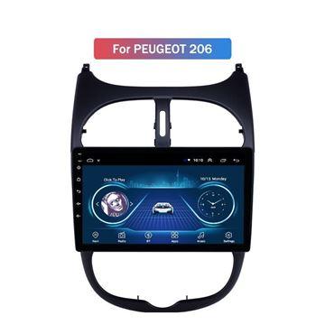 """Slika Peugeot 206 9"""" Android 8.1 T1"""