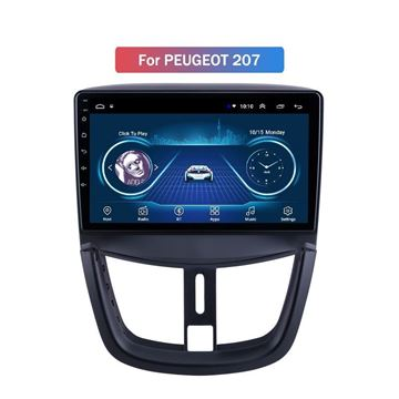 """Slika Peugeot 207 9"""" Android 8.1 T1"""