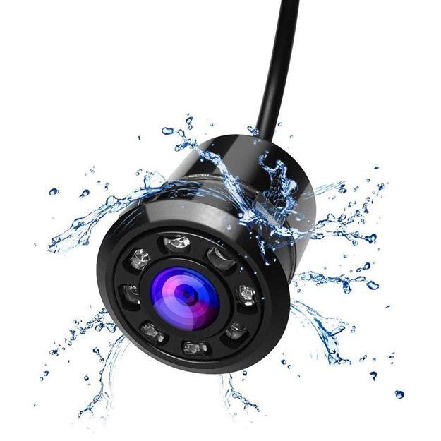 Slika Kamera | 8 LED | HD | IP67 | Okrugla
