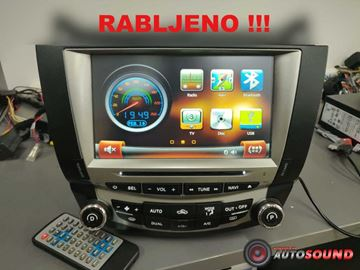 "Slika Honda Accord | Rabljeno | 8"" | Navi | DVD | USB | BT | WinCE + 8 LED KAMERA GRATIS"